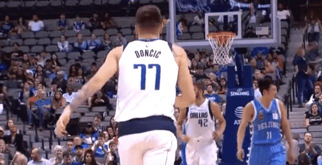 Luka Doncic est reparti avec le maillot dédicacé de LeBron James