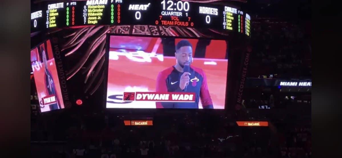 Le Heat ne sait pas épeler le prénom de Wade, LeBron chambre