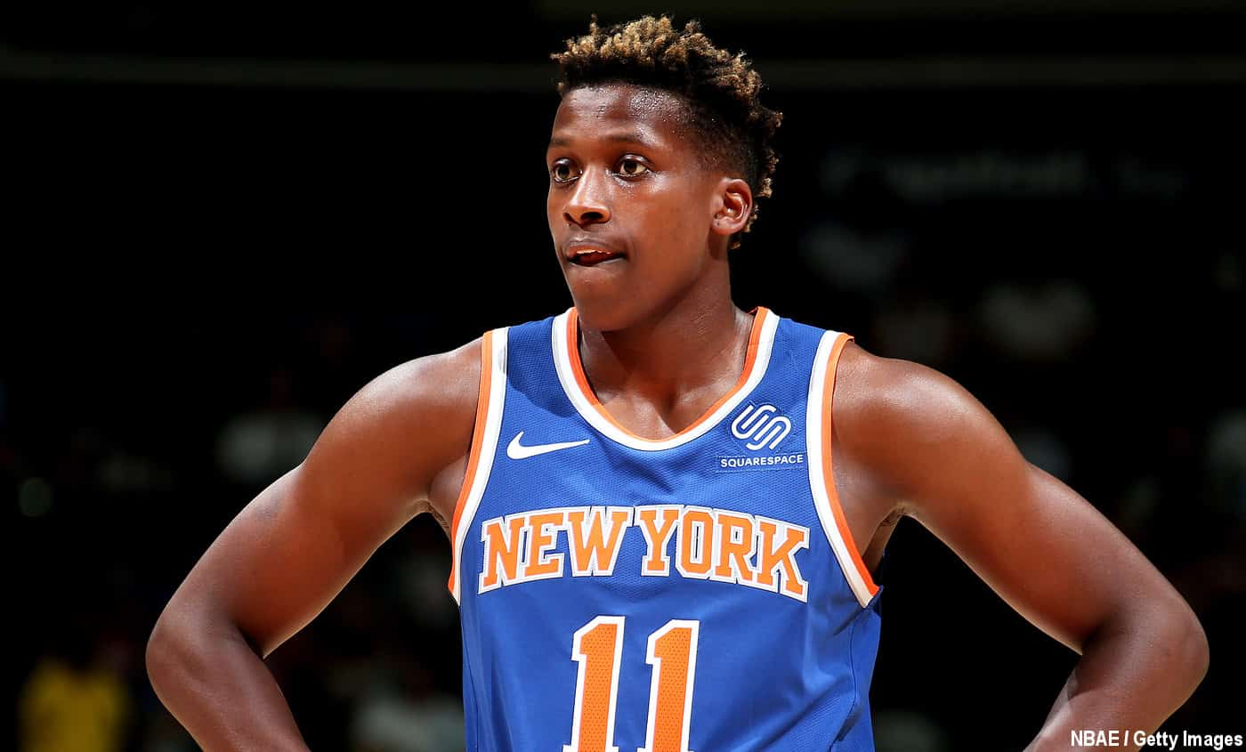 Frank Ntilikina prolongé par les New York Knicks via son option