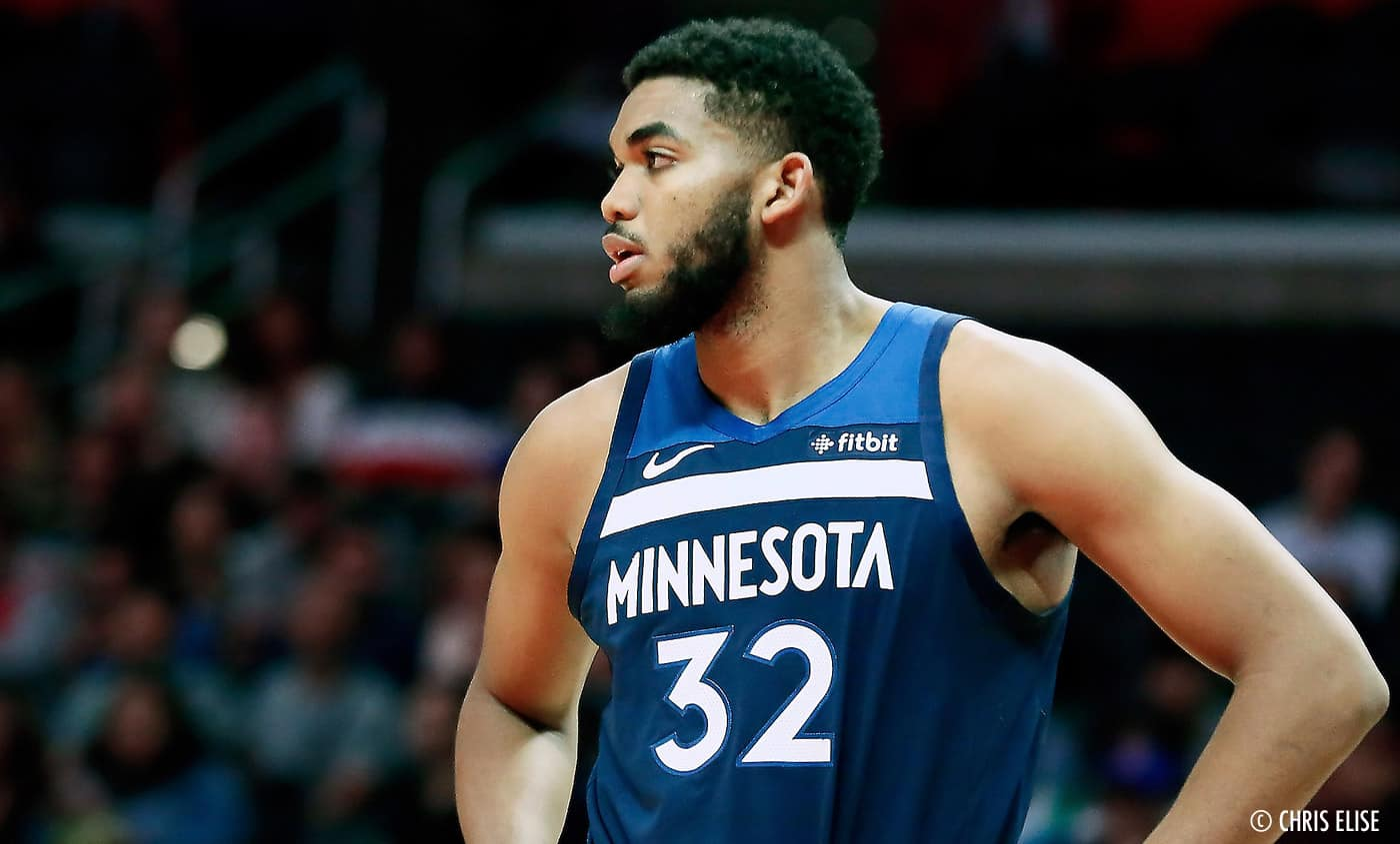 Karl-Anthony Towns drague publiquement D'Angelo Russell