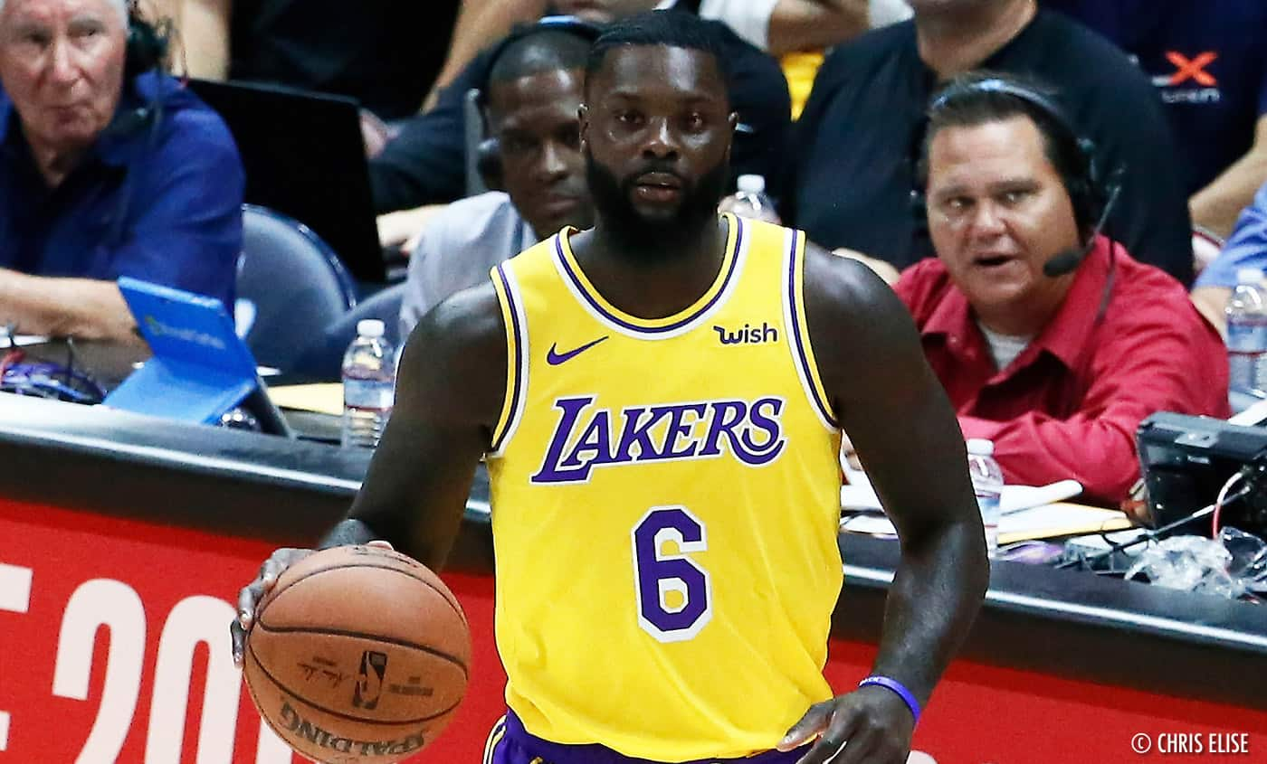 Fail : Lance Stephenson sort une belle frasque