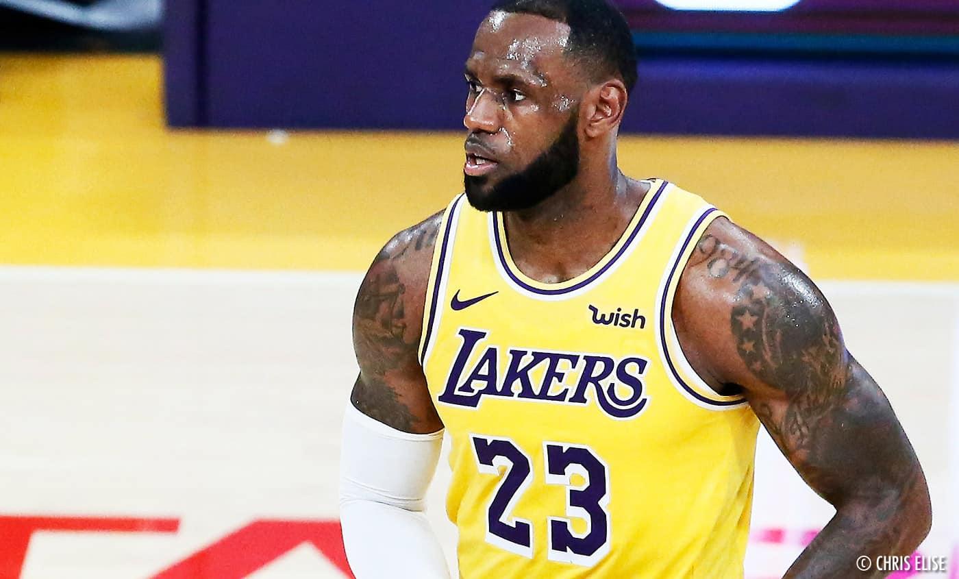 NBA LeBron James Los Angeles Lakers Frank Vogel