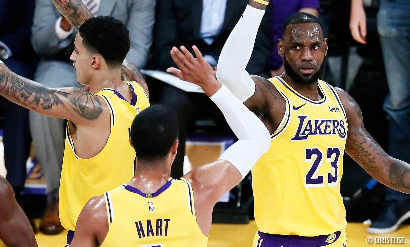 Les Lakers éteignent le feu en gagnant enfin à Portland
