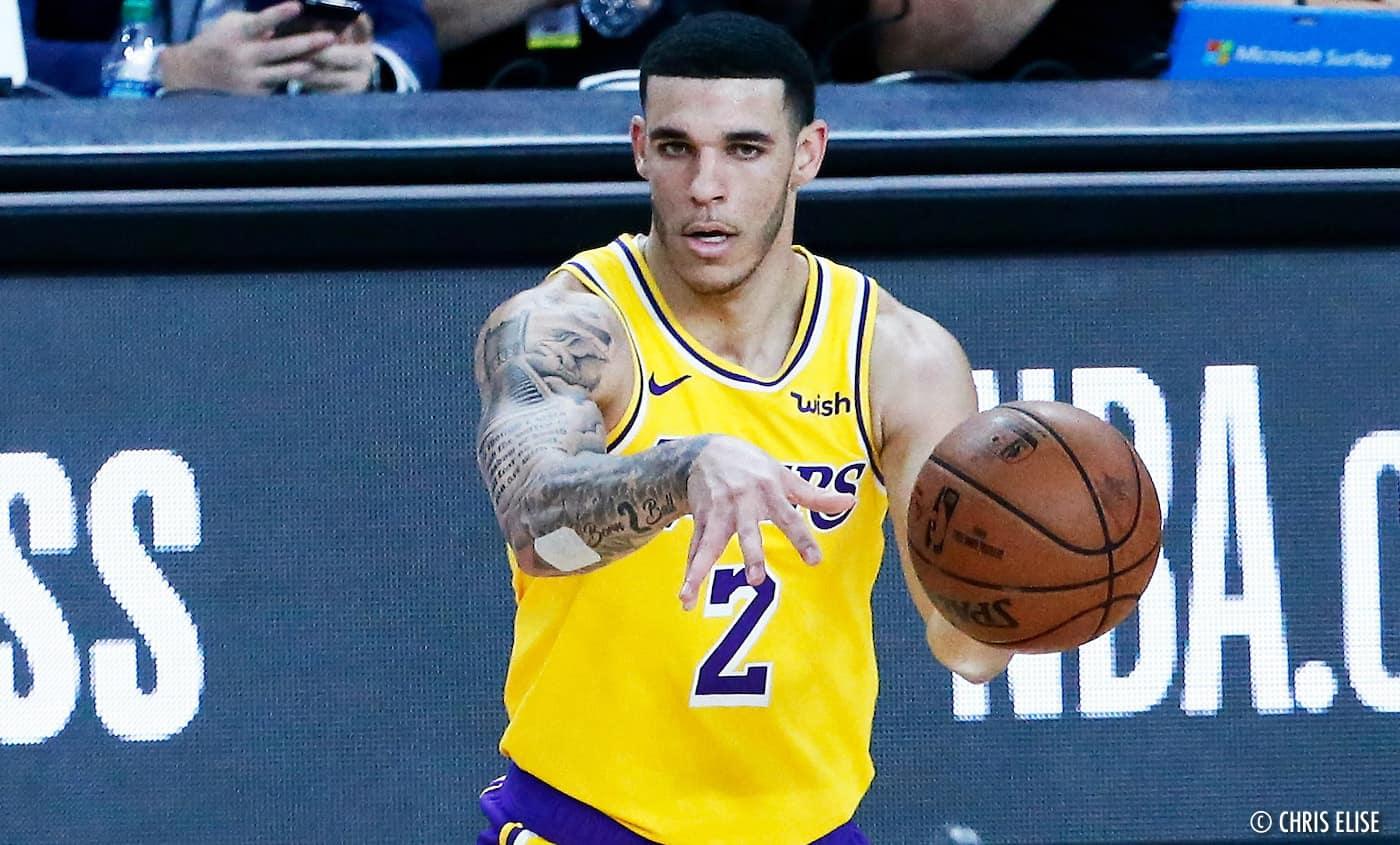 NBA Lonzo Ball
