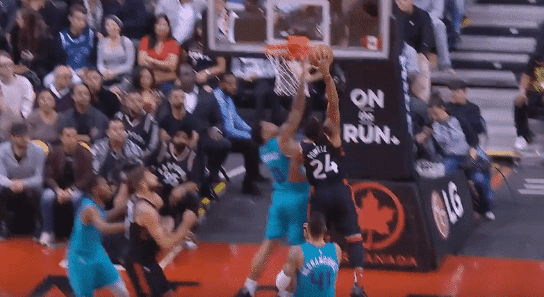 Top 10 : Norman Powell met un gros poster