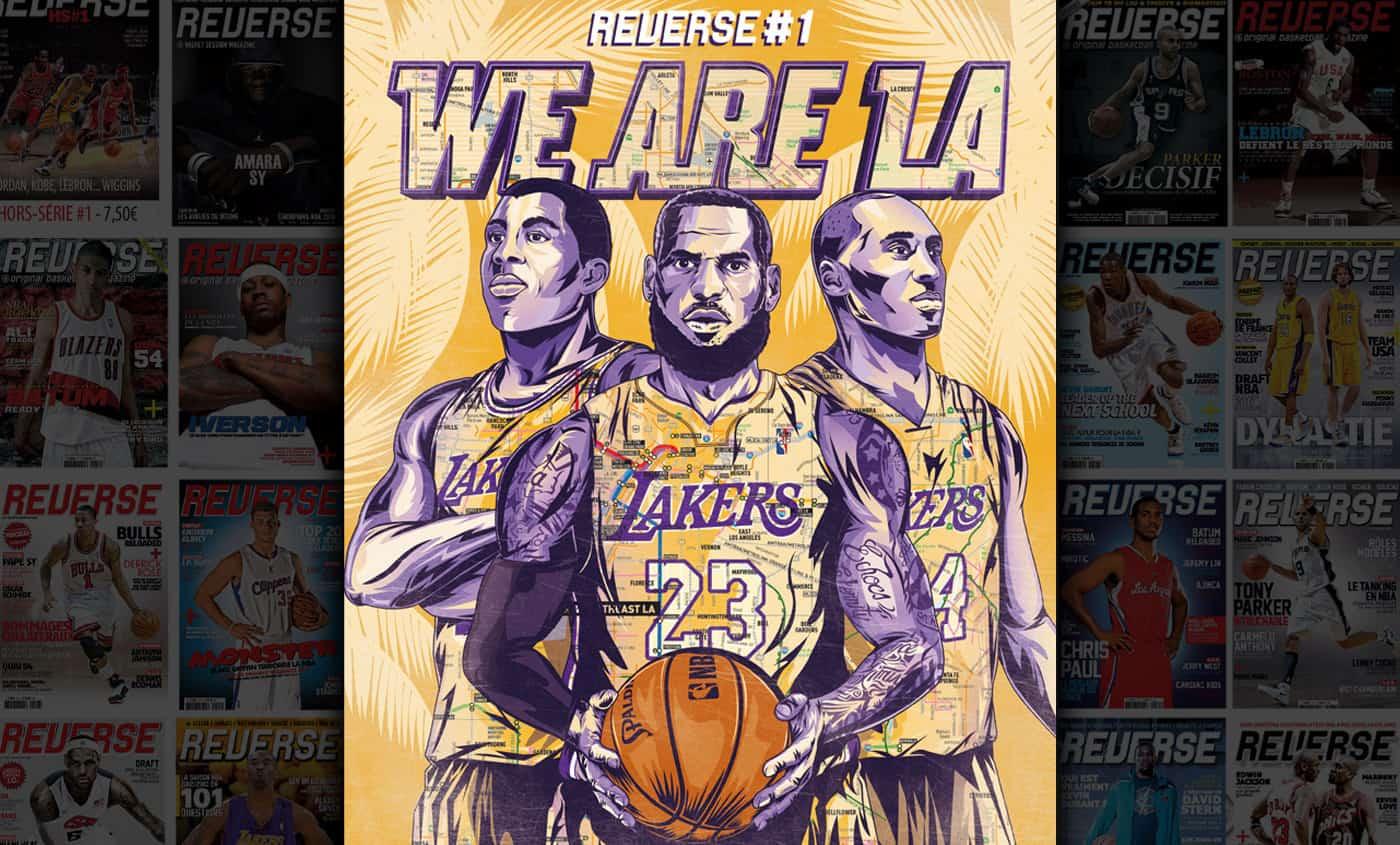 Mook REVERSE : La revue indispensable pour les fanatiques de basket !