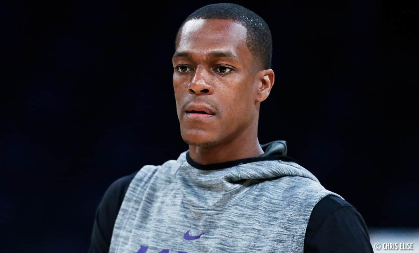 Les Lakers récupèrent Rondo en attendant LeBron