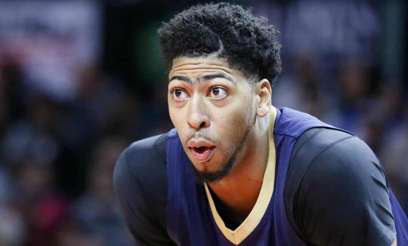 MVP Race : Anthony Davis part fort