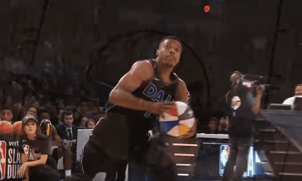 Dennis Smith dit adieu au Dunk Contest