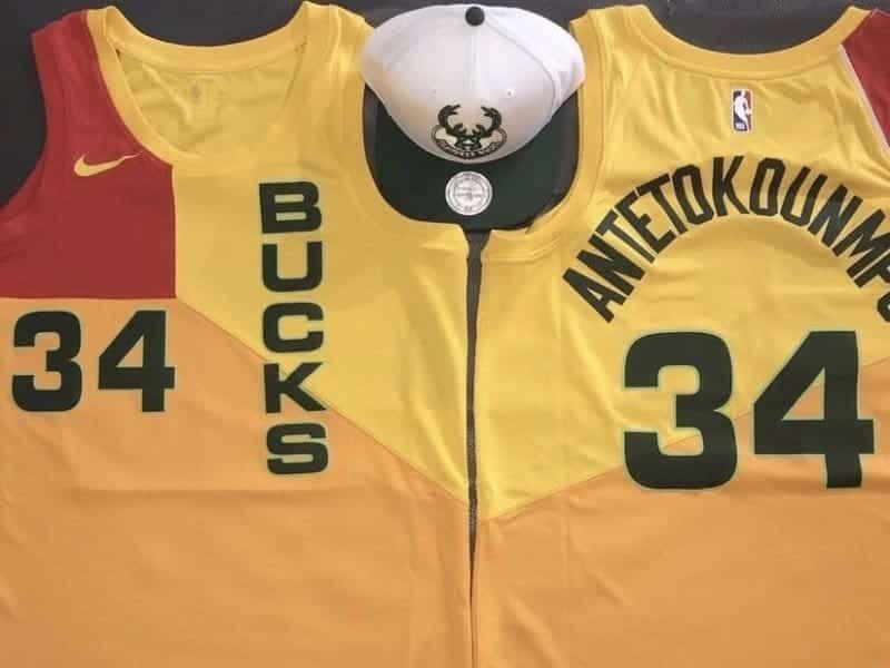 Le nouveau maillot (moche) des Bucks