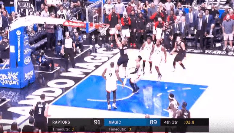Top 5 : Evan Fournier qui cale un gros dunk, ça fait plaisir