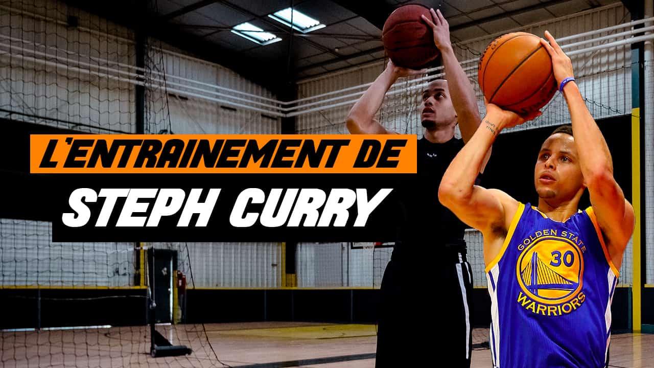 [Technique] Entraînez-vous au shoot comme Stephen Curry
