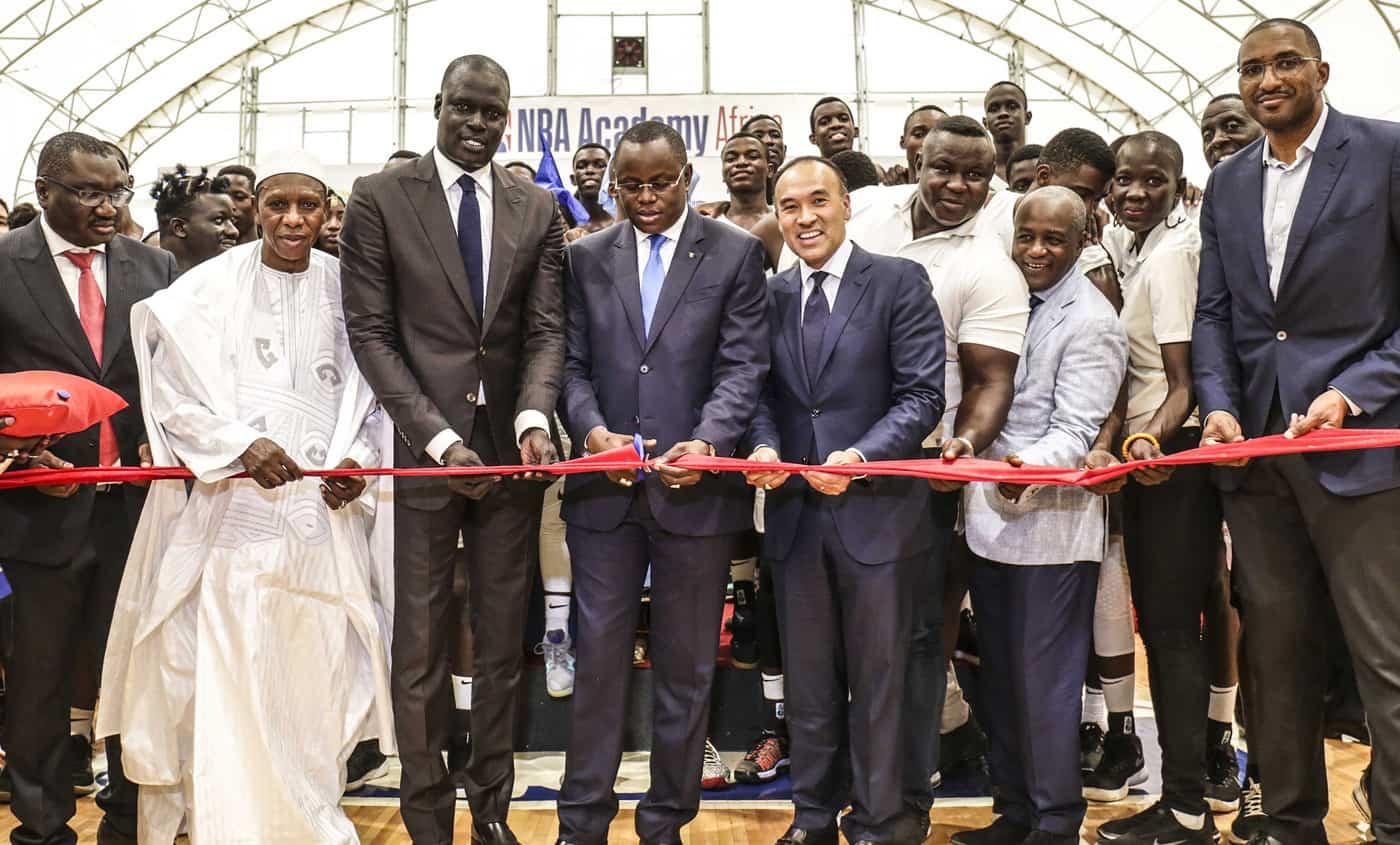 La NBA Academy Africa ouvre une nouvelle structure au Sénégal