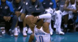 Top 10 : Le doublé pour Westbrook le puissant