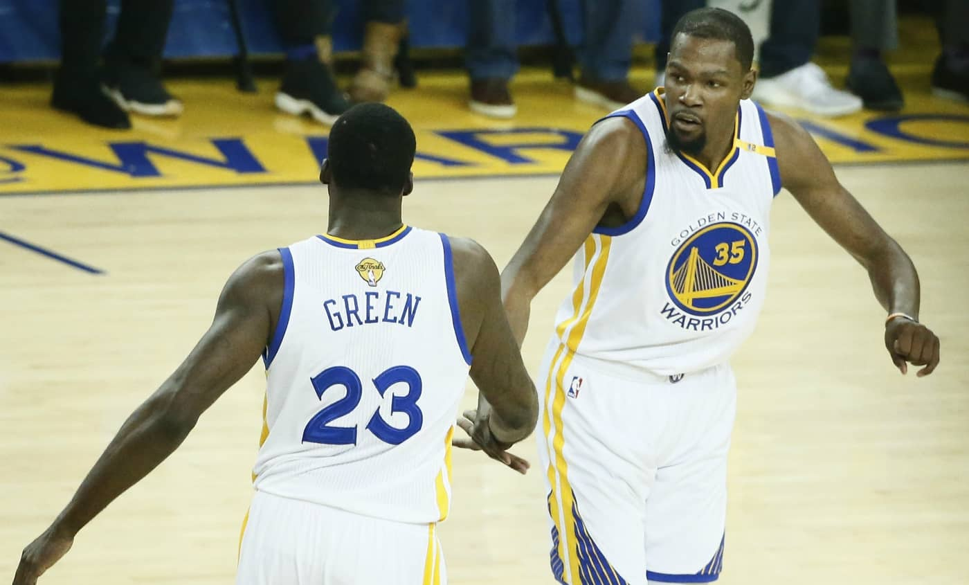 Kevin Durant Draymond Green