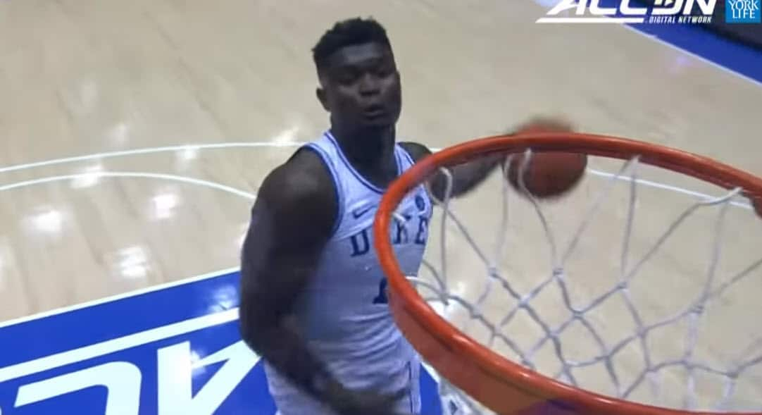 Zion imite Do Wilkins, Duke écrabouille Indiana