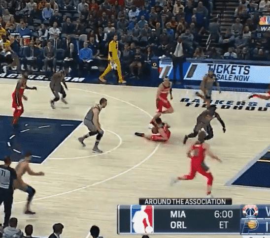 Wizards et Pacers offrent la pire séquence de jeu du monde