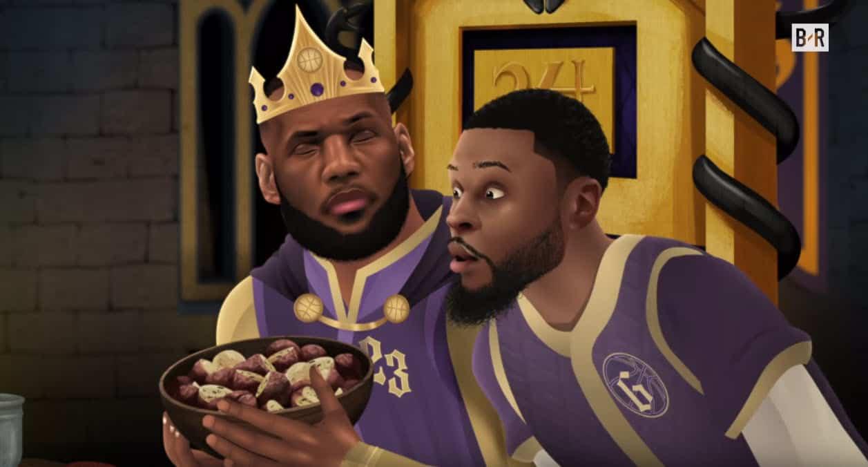 LeBron vs Kobe pour le Game of Zones de Noël