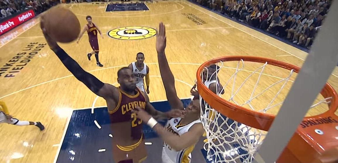 Ces hommes qui ont contré un dunk de LeBron