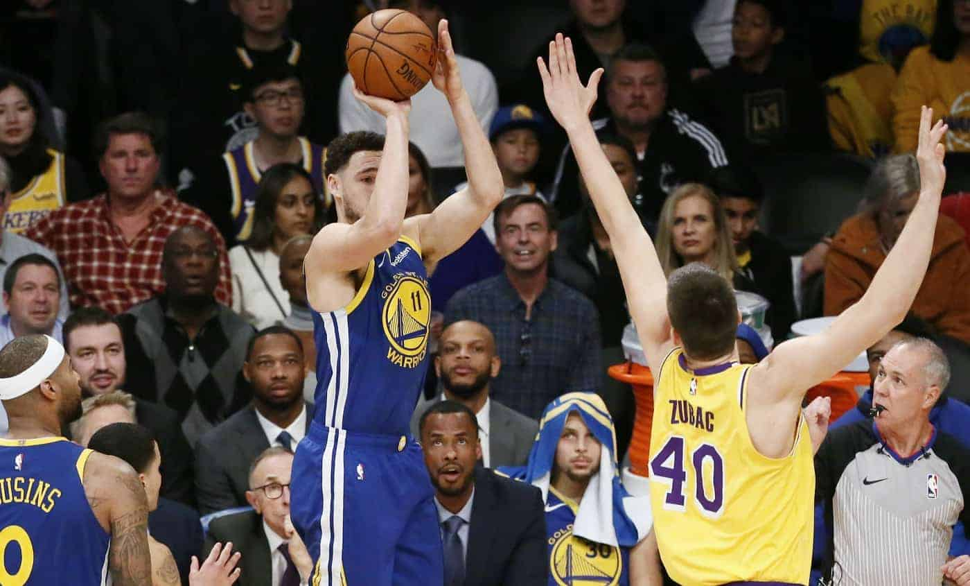 CQFR : Klay Thompson irréel à 3 pts