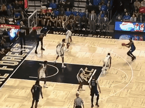 RJ Barrett imite aussi le double step-back de James Harden