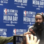 Quand James Harden drague Danny Green, free agent cet été…