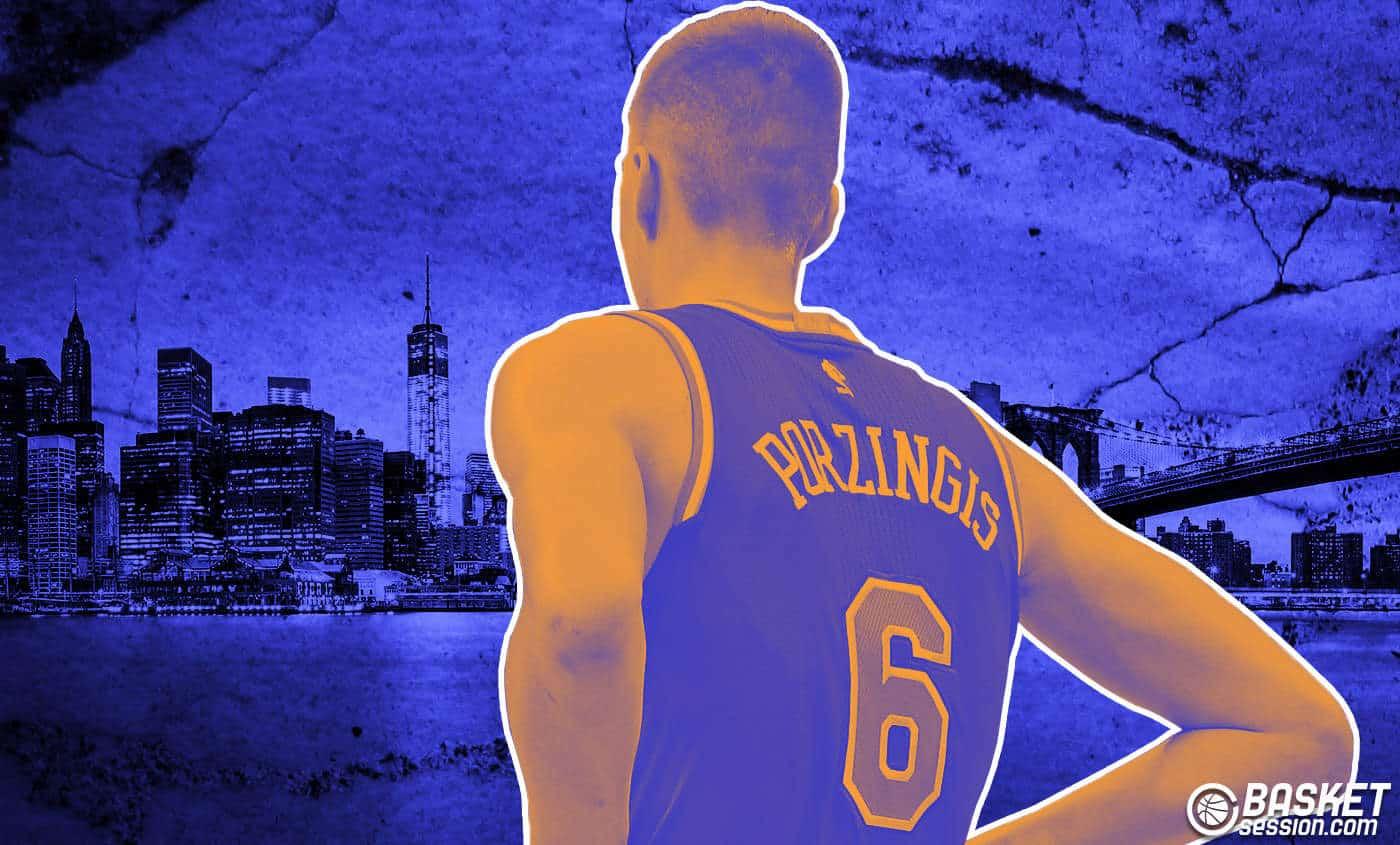 Kristaps Porzingis, ses menaces aux Knicks pour forcer un trade