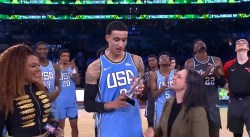 Team USA : Kyle Kuzma touché à la cheville