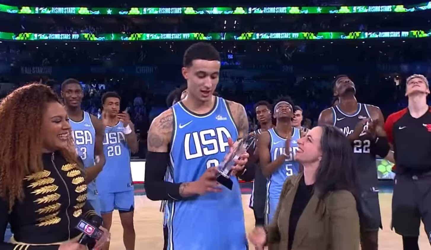 Kuzma MVP, Team USA remporte le Rising Stars