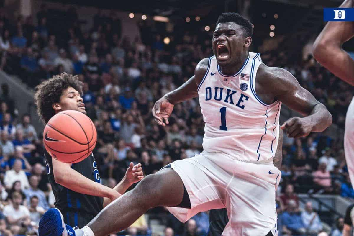 Tournoi NCAA : le duo RJ Barrett – Zion Williamson ne se rate pas