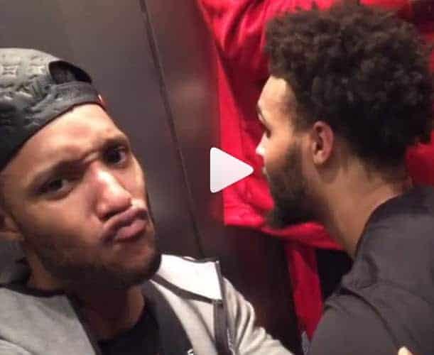 Les Blazers bloqués 30 minutes dans un ascenseur à Boston