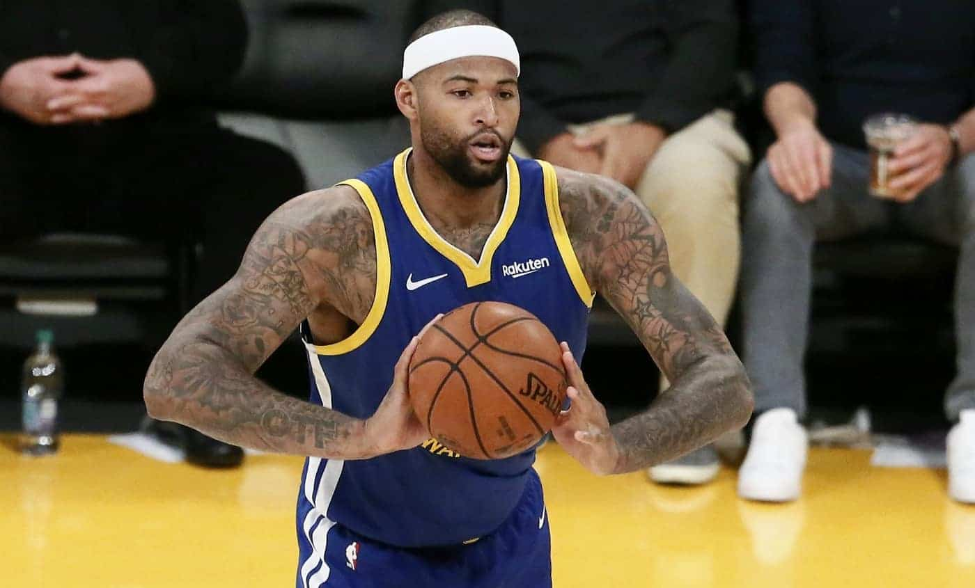 Quand DeMarcus Cousins brille, les Warriors sont terrifiants