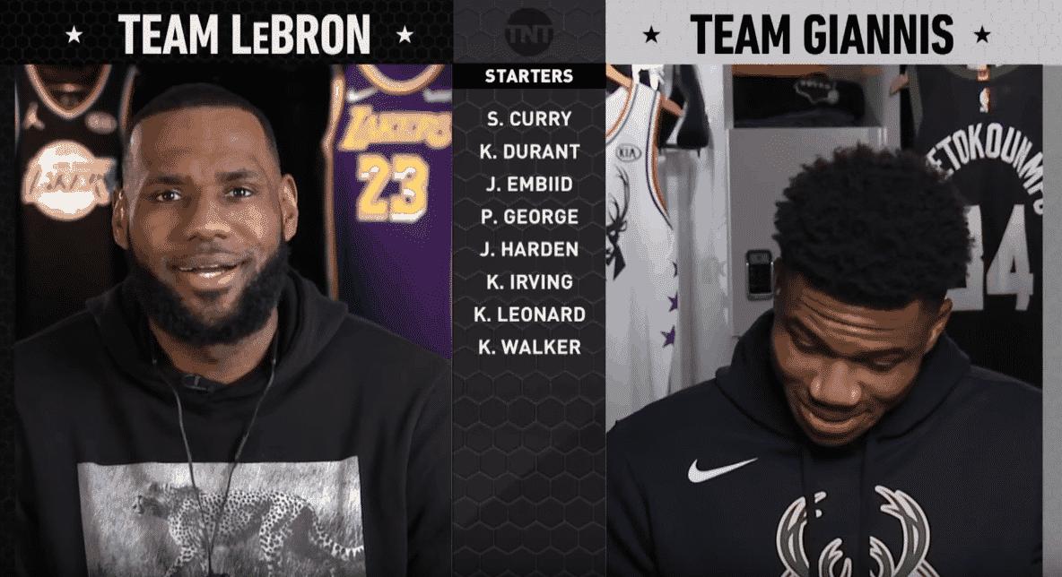 Draft All-Star Game : LeBron a visé les free-agents