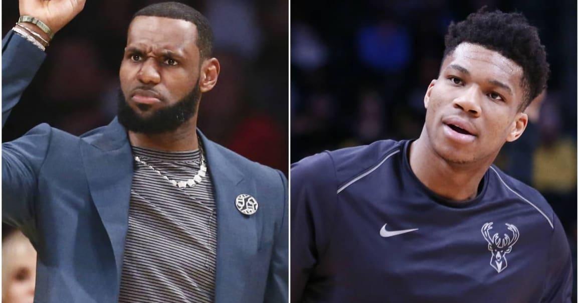 Dans la peau de LeBron et Giannis pour la Draft du All-Star Game