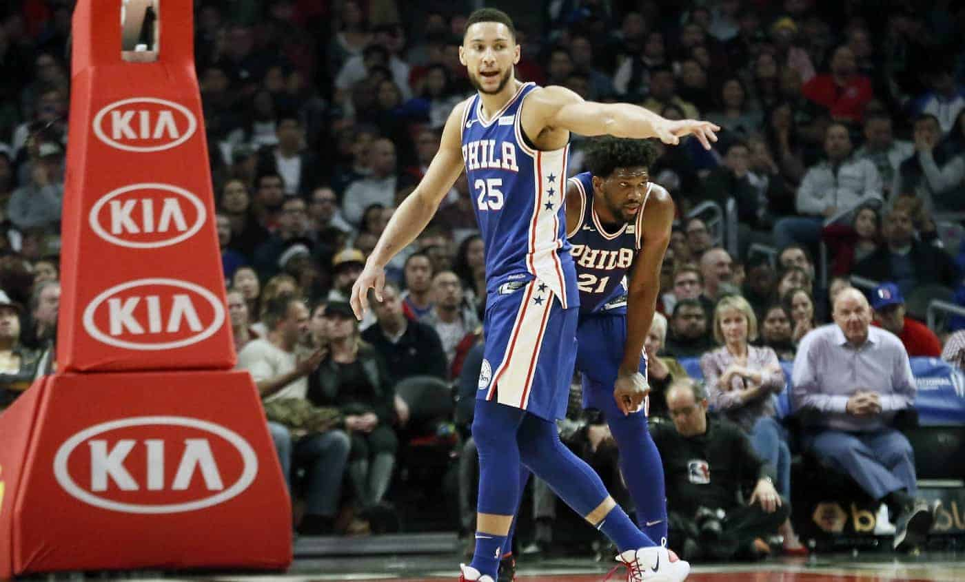 All-Star Game : Joel Embiid et Ben Simmons déclarent forfait ! - BasketSession