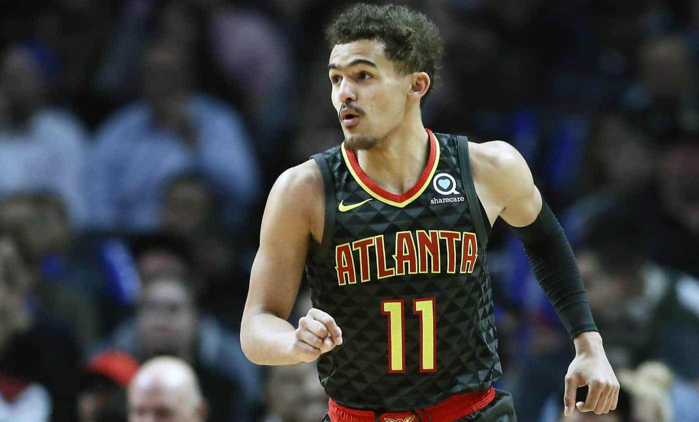Atlanta Hawks Trae Young All-Star Game 2020 concours à 3 points NBA