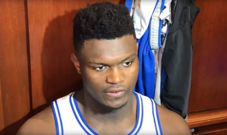 Arenas : « Zion Williamson est un shooting guard »