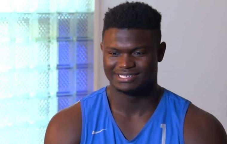 Zion Williamson choqué (en bien) par sa note dans NBA2K20