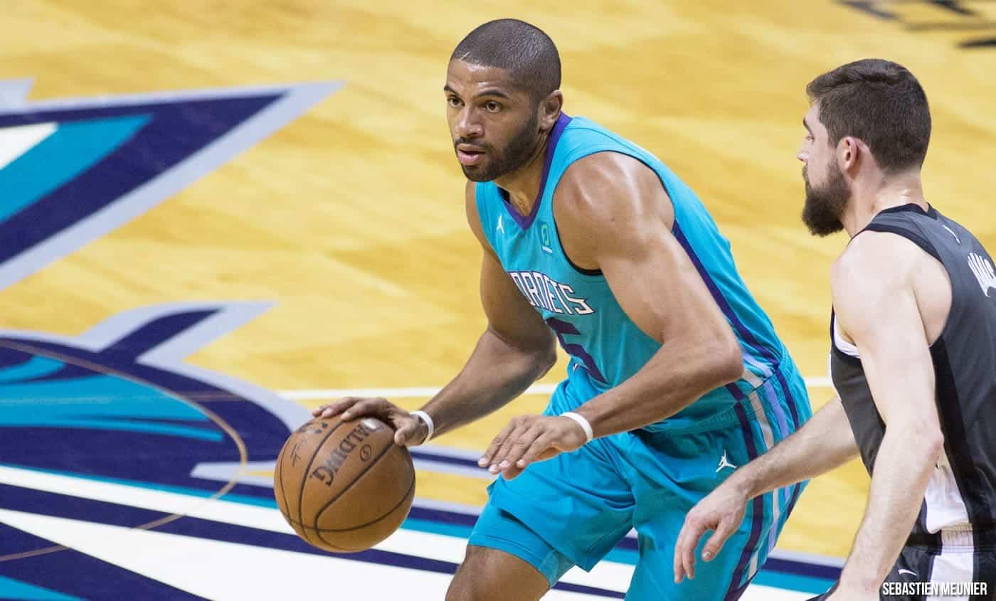Nicolas Batum propose de sortir du banc aux Charlotte Hornets