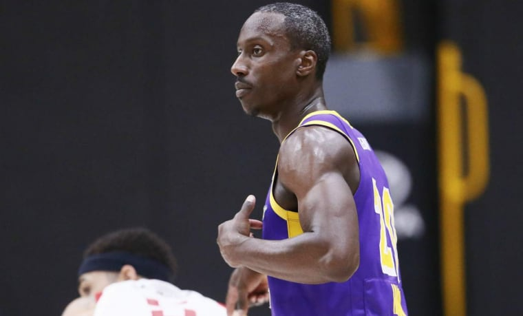 Andre Ingram est de retour avec les Lakers !