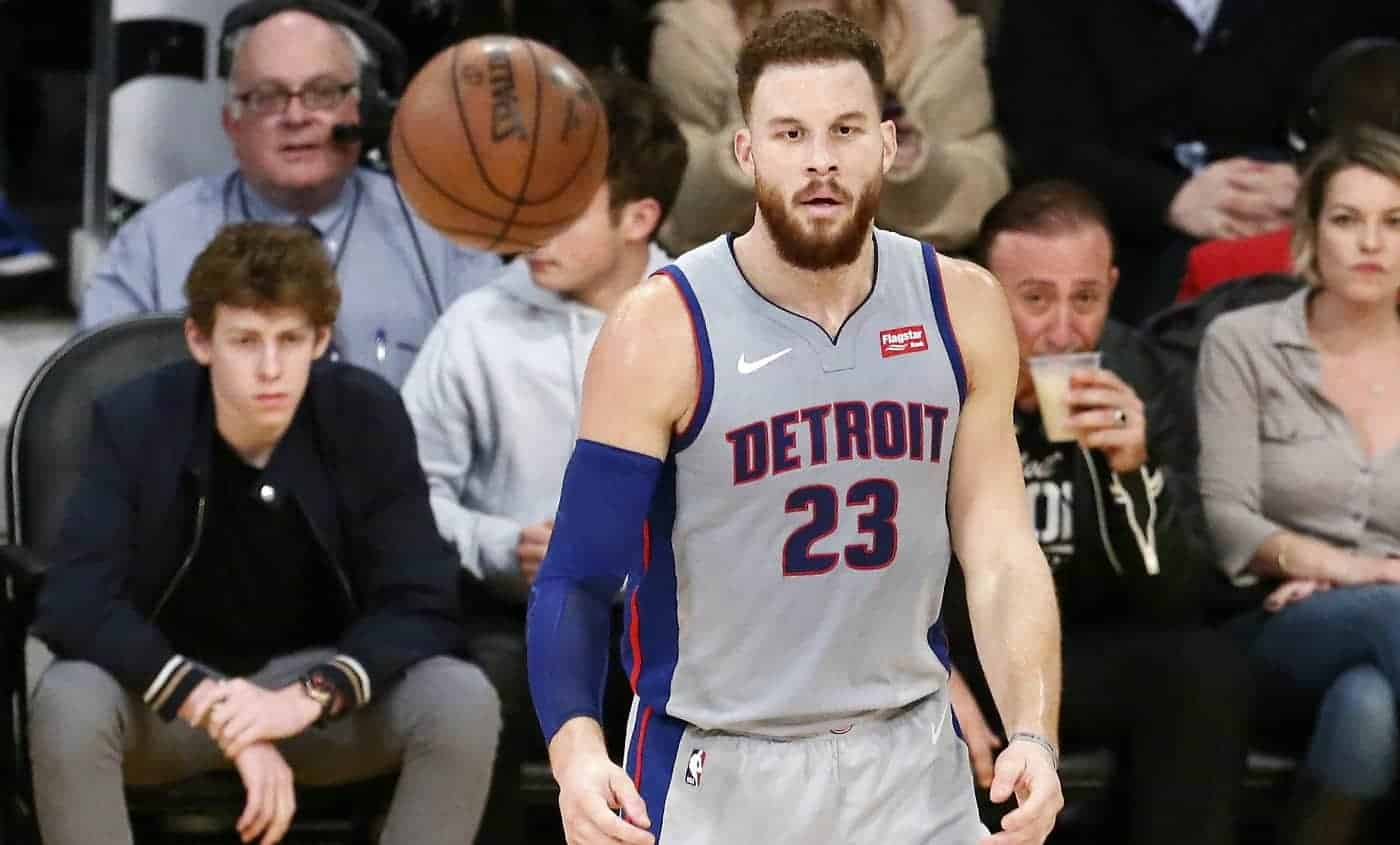 Detroit Pistons Blake Griffin NBA