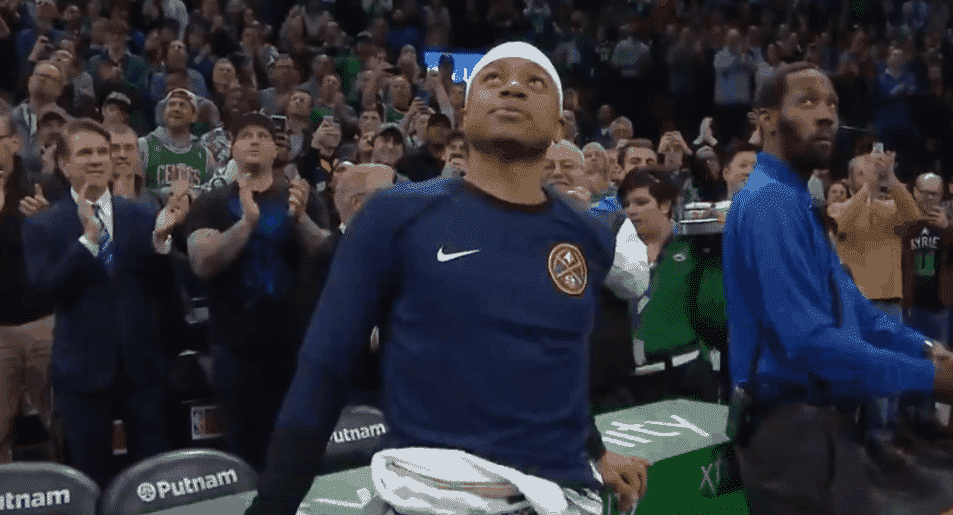 L'hommage de Boston à Isaiah Thomas file des frissons