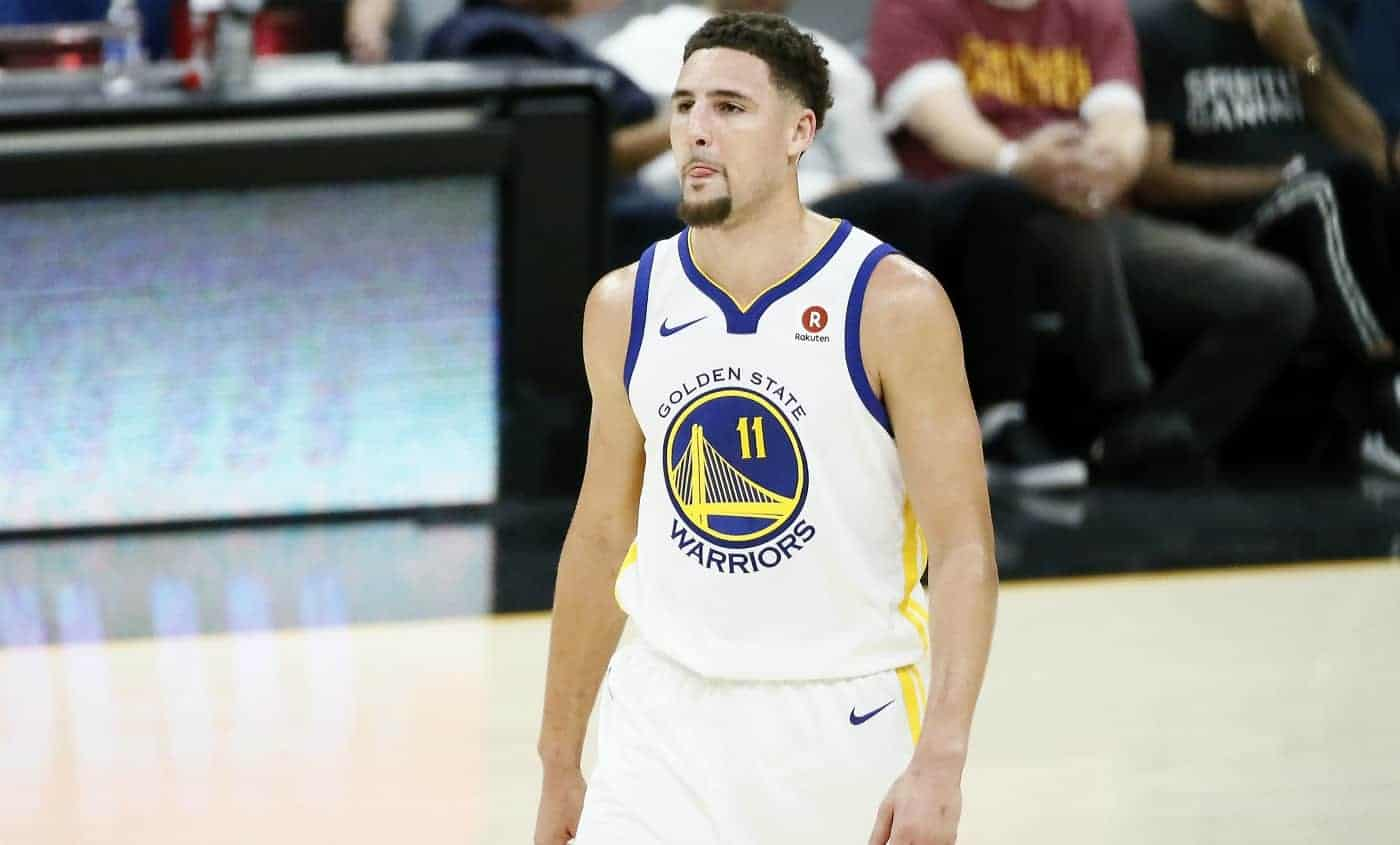 Klay Thompson trouve les fans des Warriors décevants