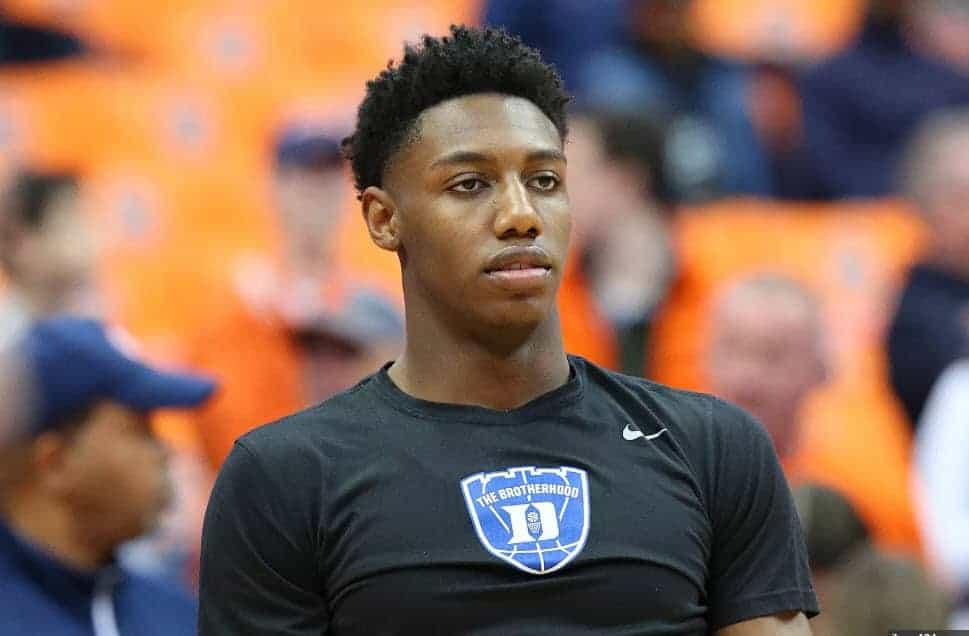 R.J. Barrett veut vraiment jouer pour les Knicks