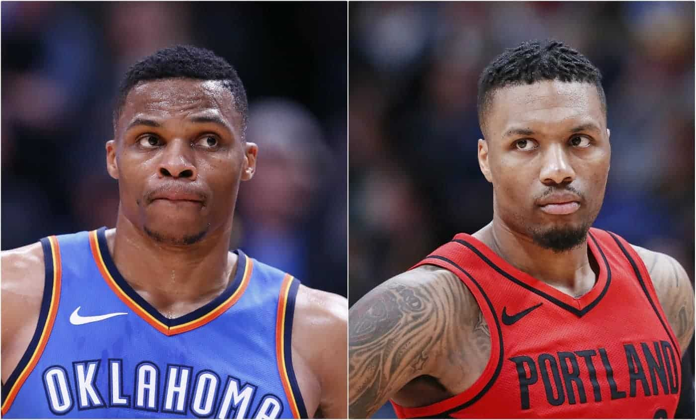 CQFR : Westbrook vs Lillard, c'était niveau playoffs