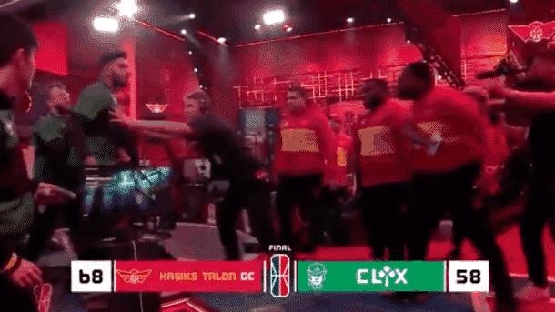 Même dans la NBA 2K League, il y a des altercations