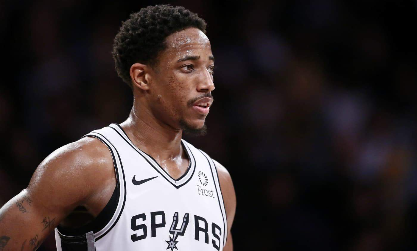 NBA DeMar DeRozan San Antonio Spurs