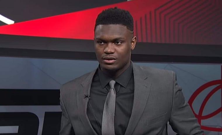 Zion Williamson annonce son arrivée en NBA