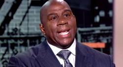 Magic dégomme un joueur des Lakers, et ça fait mal