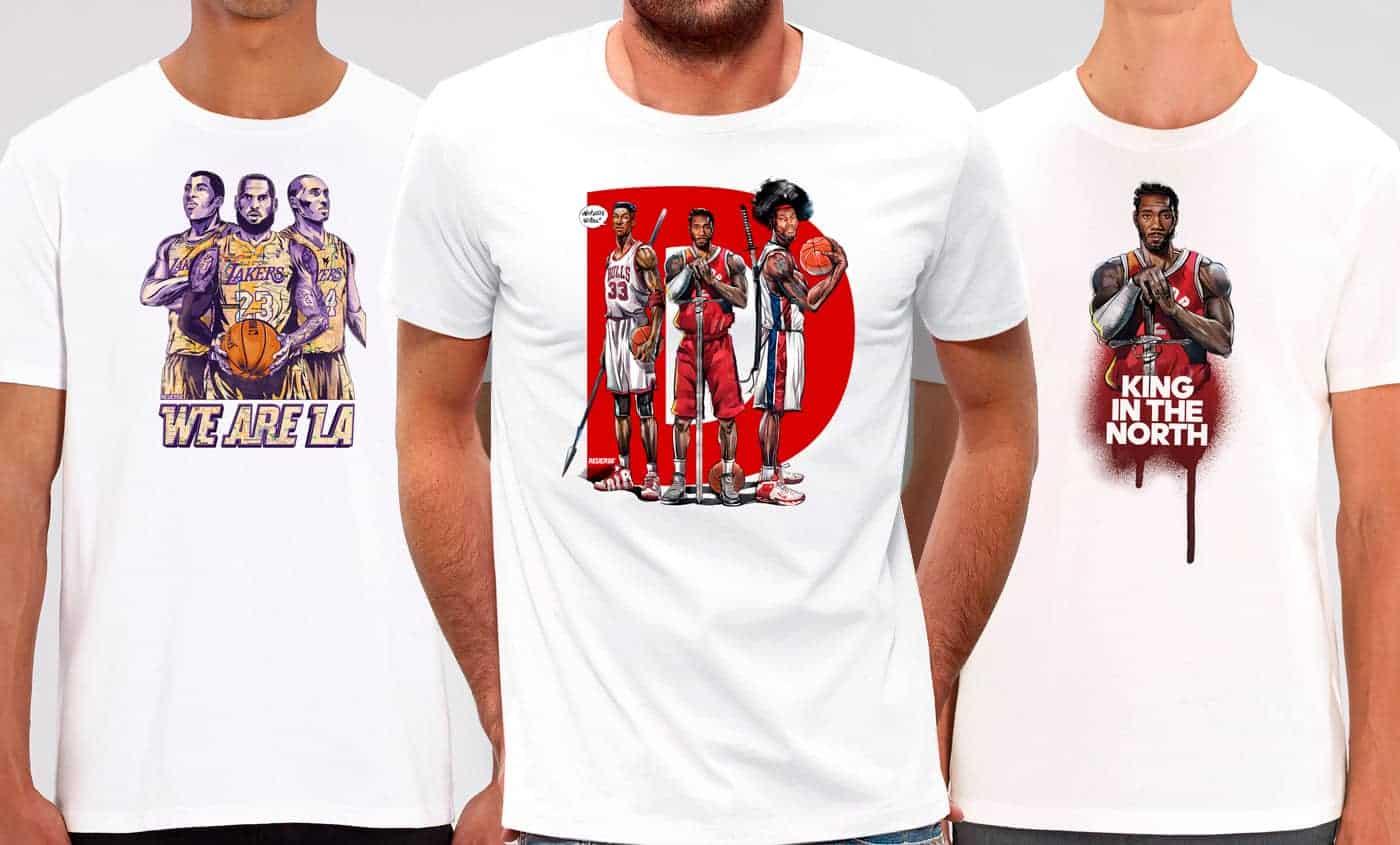 Voici enfin nos nouveaux T-Shirts «D» et «We Are L.A.»